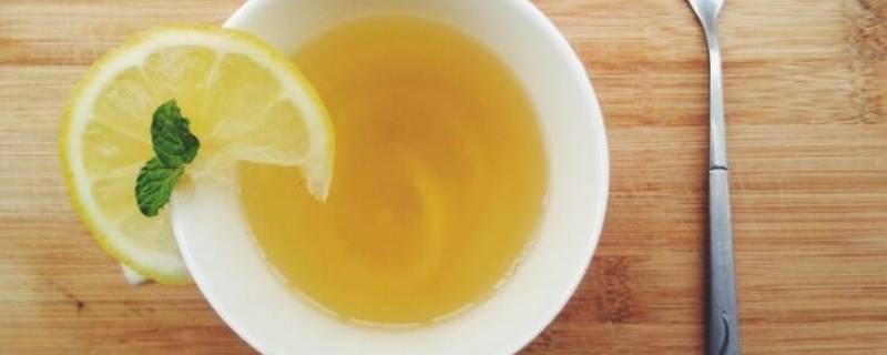 柠檬蜂蜜水能洗脸吗